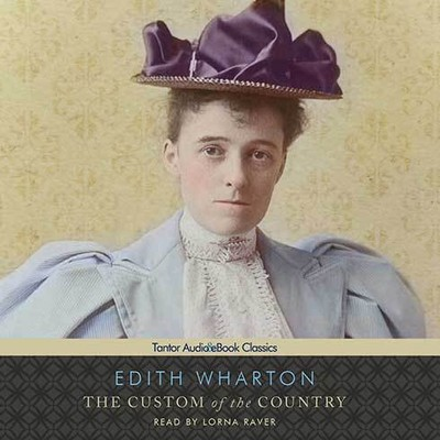 Printable The Custom of the Country Audiobook Cover Art
