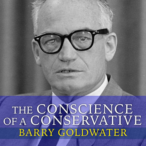 Printable The Conscience of a Conservative Audiobook Cover Art
