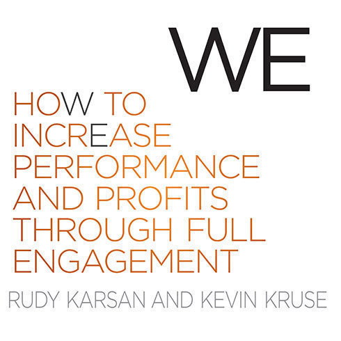 Printable We: How to Increase Performance and Profits through Full Engagement Audiobook Cover Art