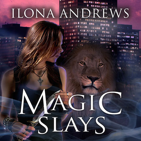 Printable Magic Slays Audiobook Cover Art