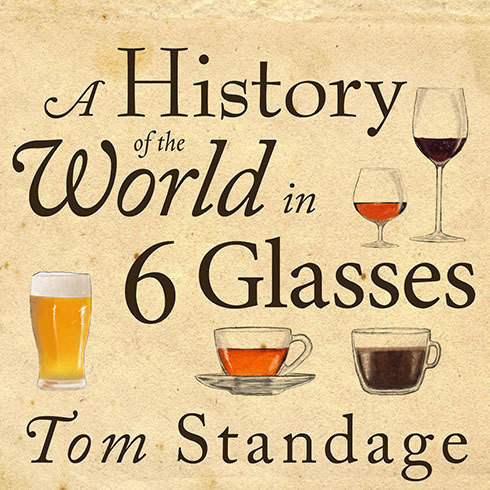 Printable A History of the World in 6 Glasses Audiobook Cover Art