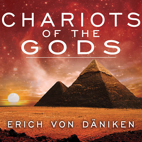 Printable Chariots of the Gods Audiobook Cover Art