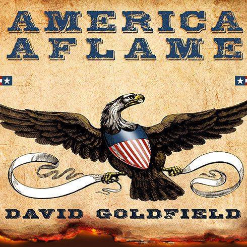 Printable America Aflame: How the Civil War Created a Nation Audiobook Cover Art