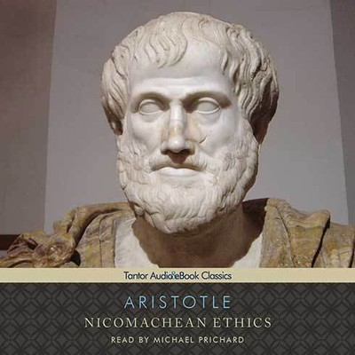 Printable Nicomachean Ethics Audiobook Cover Art