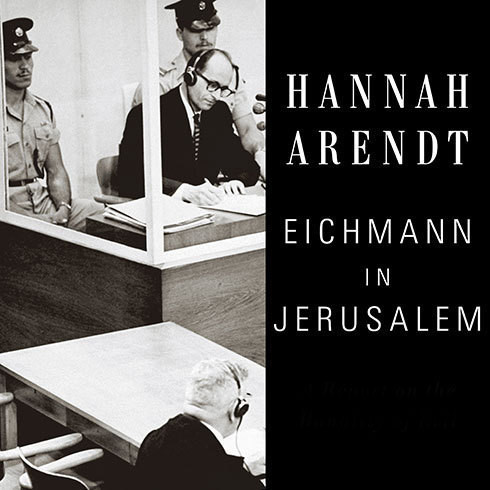 Printable Eichmann in Jerusalem: A Report on the Banality of Evil Audiobook Cover Art