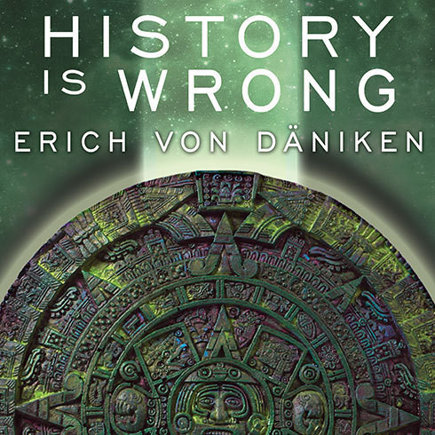Printable History Is Wrong Audiobook Cover Art