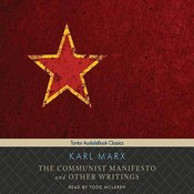 The Communist Manifesto, and Other Writings Audiobook, by Karl Marx