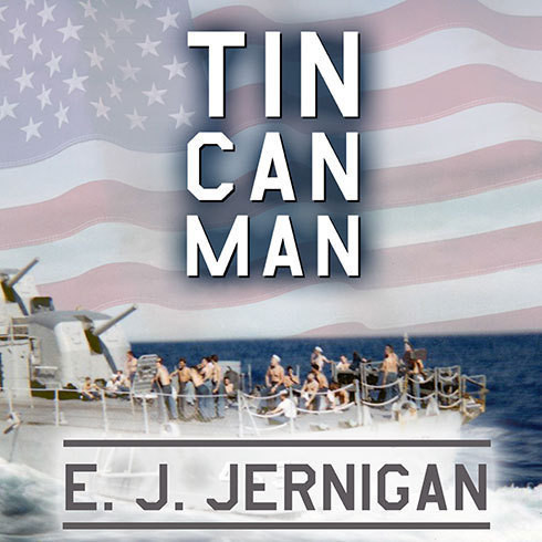 Printable Tin Can Man Audiobook Cover Art