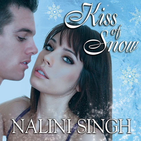 Printable Kiss of Snow Audiobook Cover Art