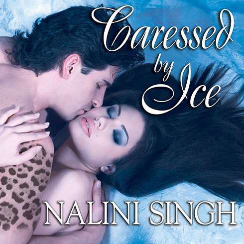 Printable Caressed by Ice Audiobook Cover Art
