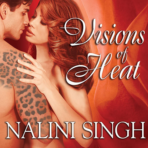 Printable Visions of Heat Audiobook Cover Art