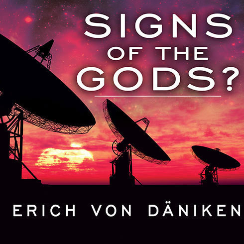 Printable Signs of the Gods? Audiobook Cover Art