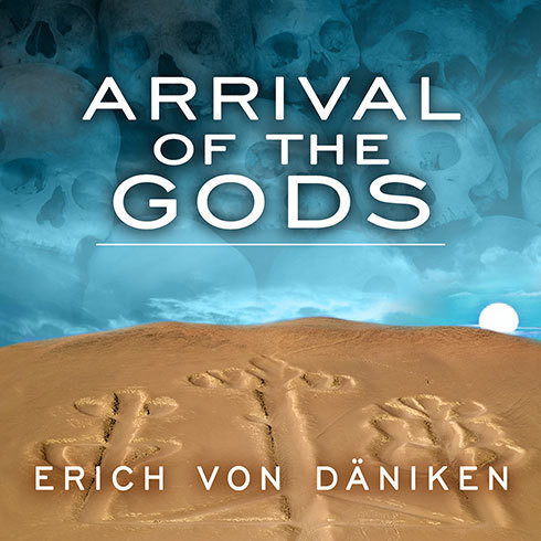 Printable Arrival of the Gods: Revealing the Alien Landing Sites of Nazca Audiobook Cover Art