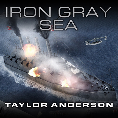 Printable Destroyerman: Iron Gray Sea Audiobook Cover Art