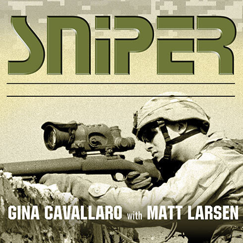 Printable Sniper: American Single-Shot Warriors in Iraq and Afghanistan Audiobook Cover Art