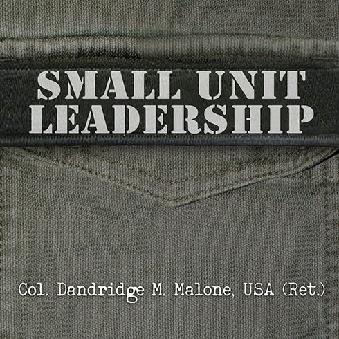 Printable Small Unit Leadership: A Commonsense Approach Audiobook Cover Art