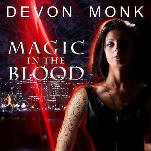 Printable Magic in the Blood Audiobook Cover Art