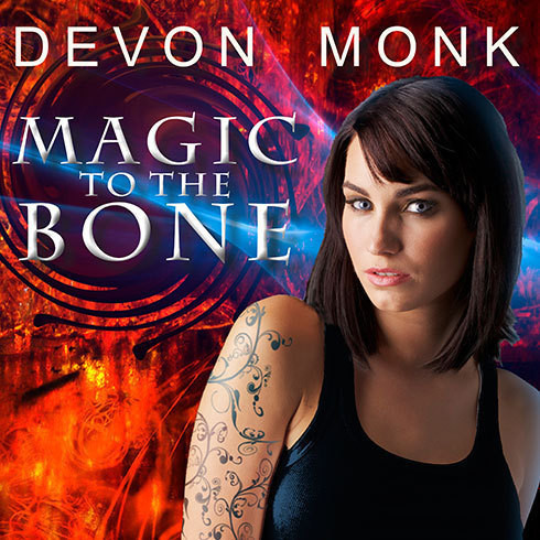 Printable Magic to the Bone Audiobook Cover Art