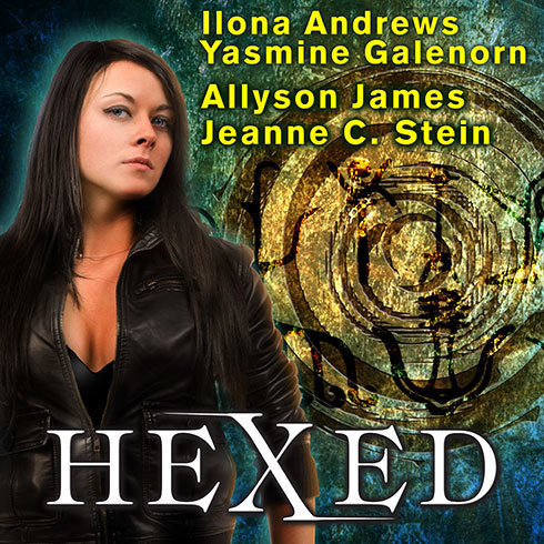 Printable Hexed Audiobook Cover Art