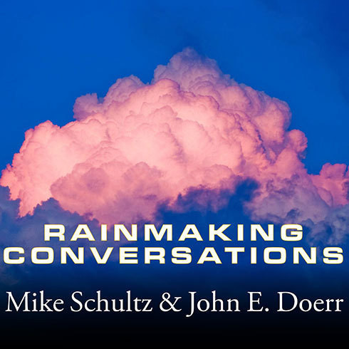 Printable Rainmaking Conversations: Influence, Persuade, and Sell in Any Situation Audiobook Cover Art
