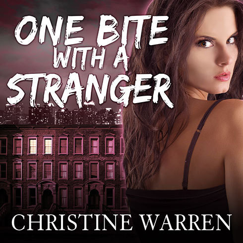 Printable One Bite with a Stranger Audiobook Cover Art