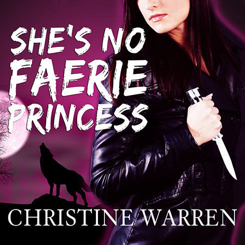 Printable She's No Faerie Princess Audiobook Cover Art