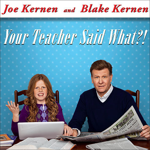 Printable Your Teacher Said What?!: Defending Our Kids from the Liberal Assault on Capitalism Audiobook Cover Art