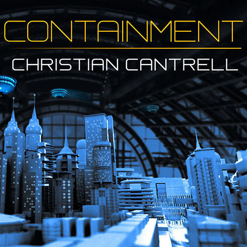 Printable Containment Audiobook Cover Art