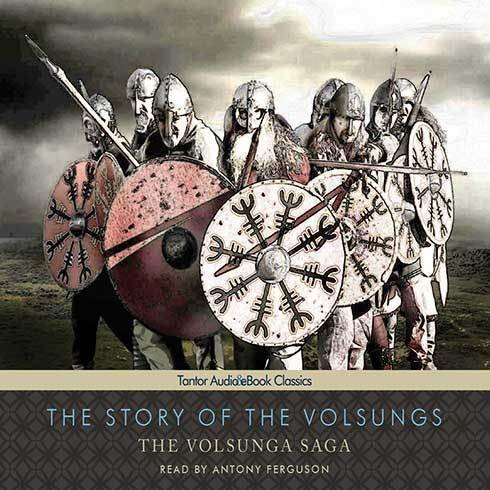 Printable The Story of the Volsungs: The Volsunga Saga Audiobook Cover Art