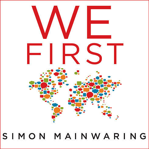 Printable We First: How Brands and Consumers Use Social Media To Build a Better World Audiobook Cover Art