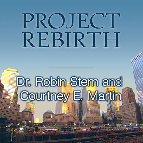 Printable Project Rebirth: Survival and the Strength of the Human Spirit from 9/11 Survivors Audiobook Cover Art