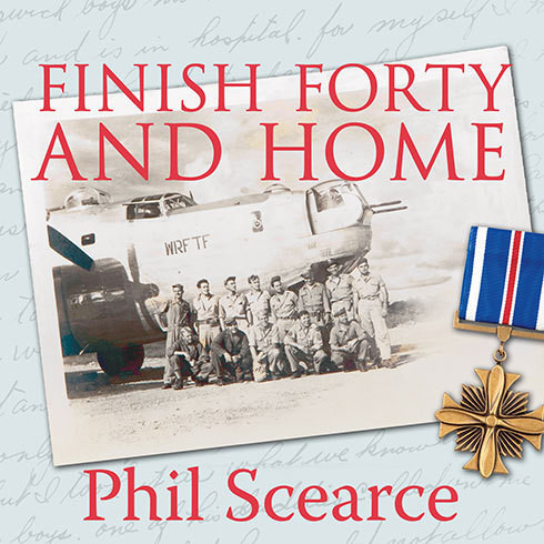Printable Finish Forty and Home: The Untold World War II Story of B-24s in the Pacific Audiobook Cover Art