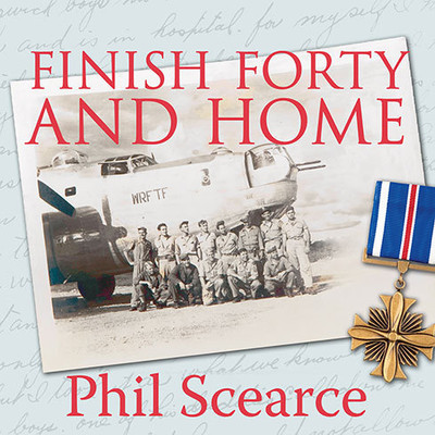 Finish Forty and Home: The Untold World War II Story of B-24s in the Pacific Audiobook, by