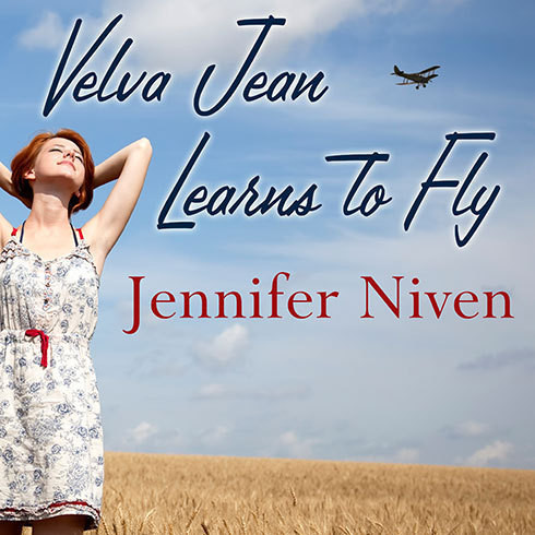 Printable Velva Jean Learns to Fly Audiobook Cover Art