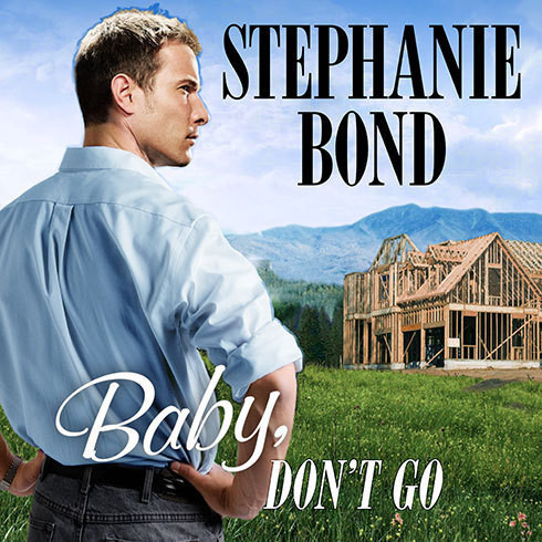 Printable Baby, Don't Go Audiobook Cover Art