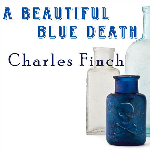 Printable A Beautiful Blue Death Audiobook Cover Art