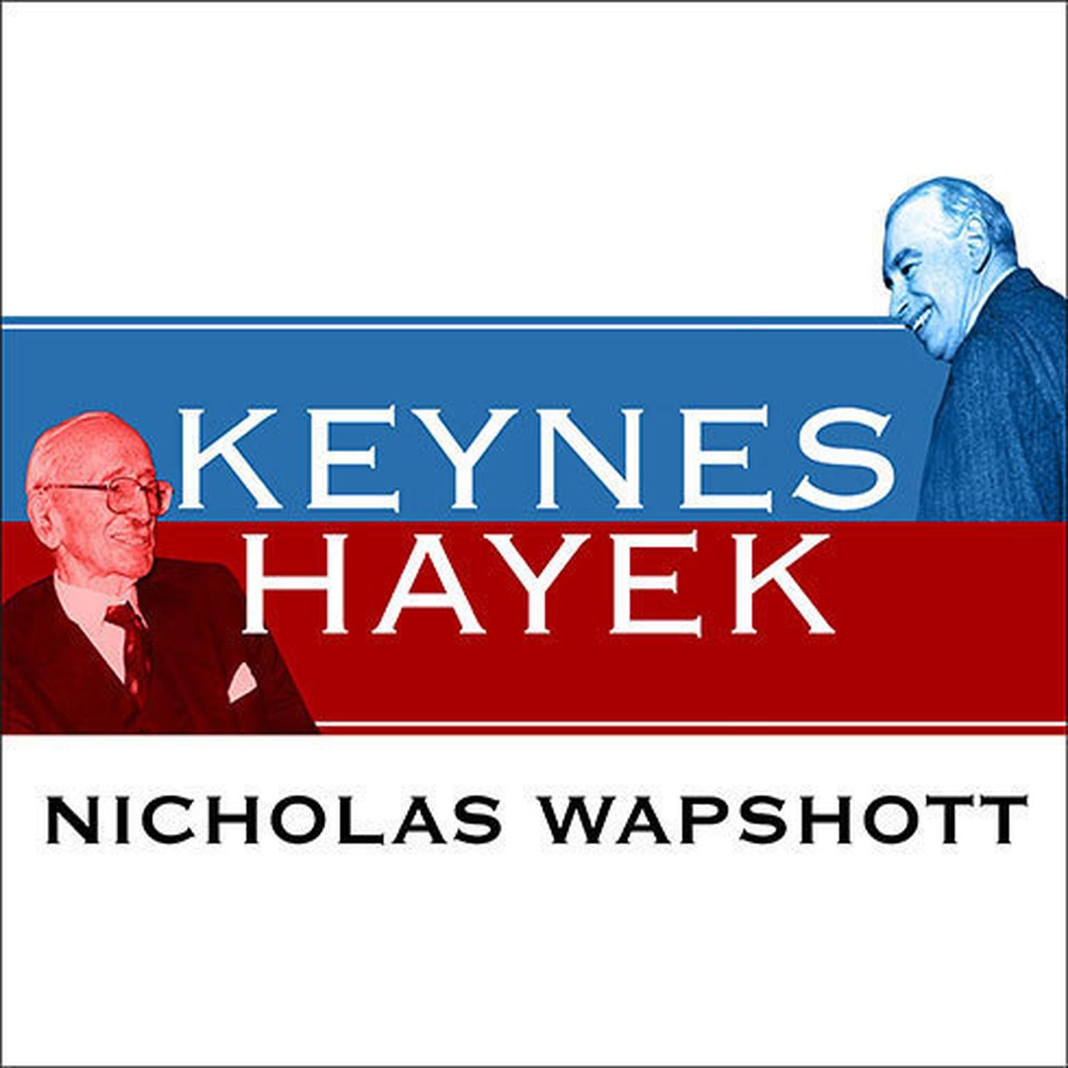 Printable Keynes Hayek Audiobook Cover Art
