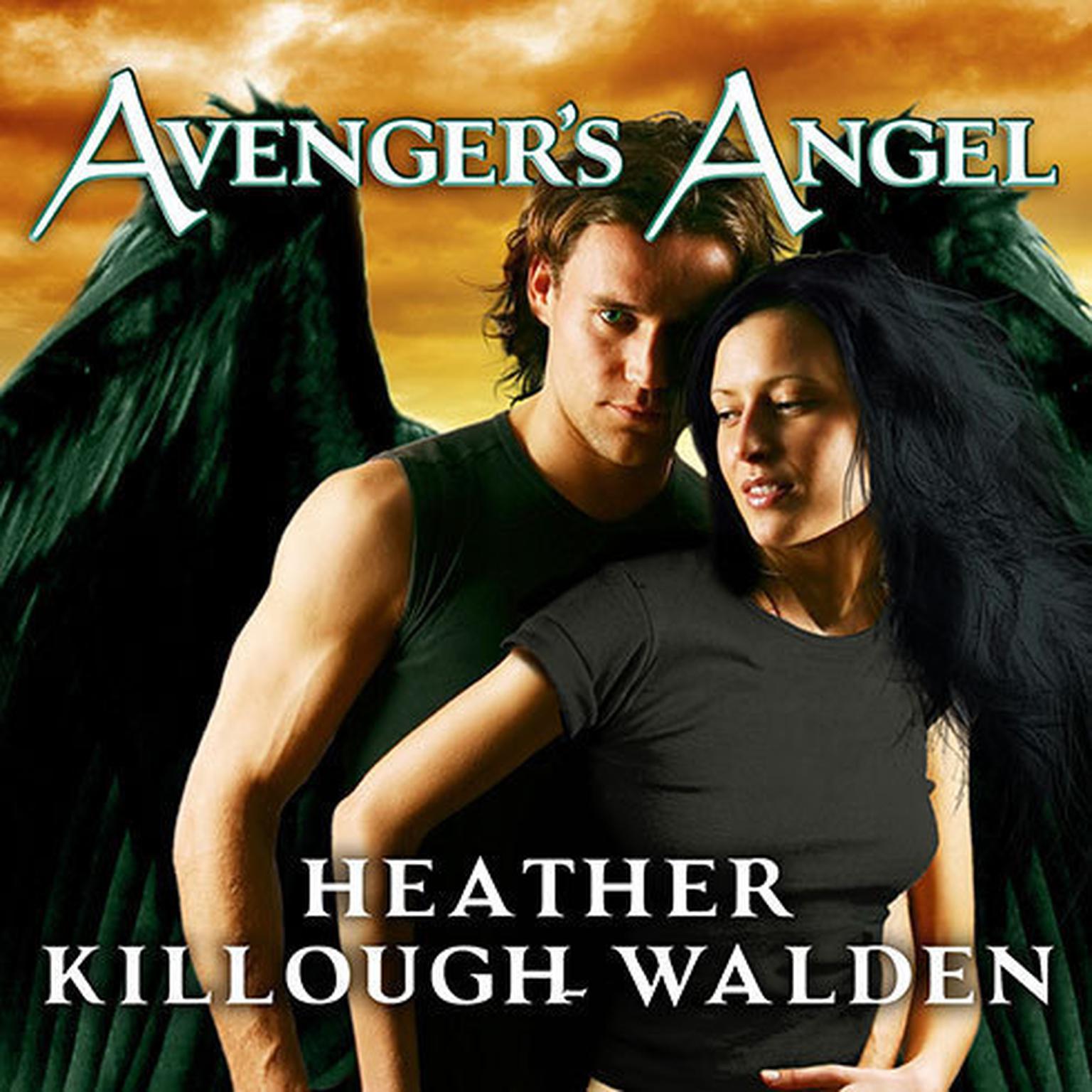 Printable Avenger's Angel Audiobook Cover Art