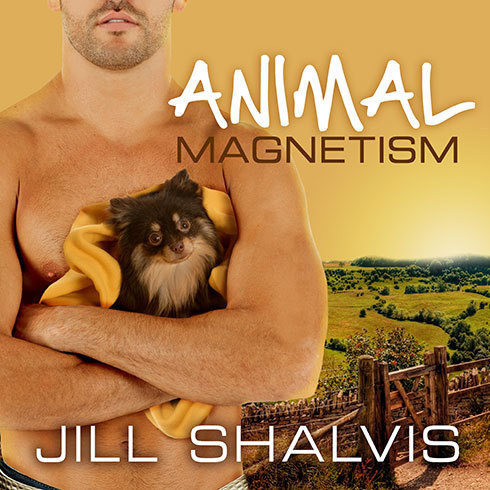 Printable Animal Magnetism Audiobook Cover Art