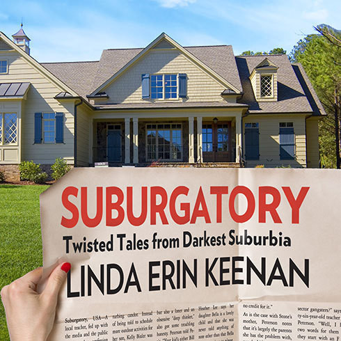 Printable Suburgatory: Twisted Tales from Darkest Suburbia Audiobook Cover Art