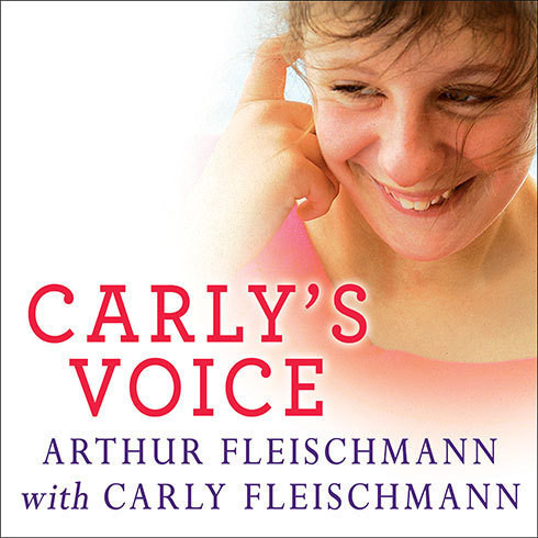 Printable Carly's Voice: Breaking Through Autism Audiobook Cover Art
