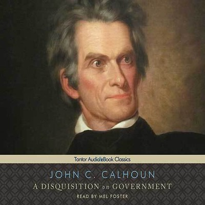 Printable A Disquisition on Government Audiobook Cover Art