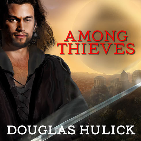Printable Among Thieves: A Tale of the Kin Audiobook Cover Art