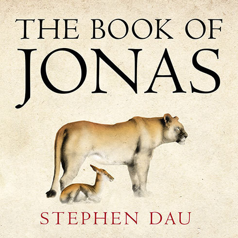 Printable The Book of Jonas Audiobook Cover Art