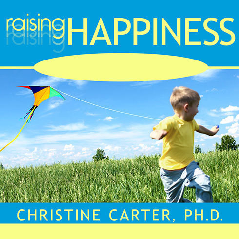 Printable Raising Happiness: 10 Simple Steps for More Joyful Kids and Happier Parents Audiobook Cover Art