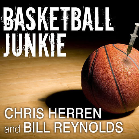 Printable Basketball Junkie: A Memoir Audiobook Cover Art