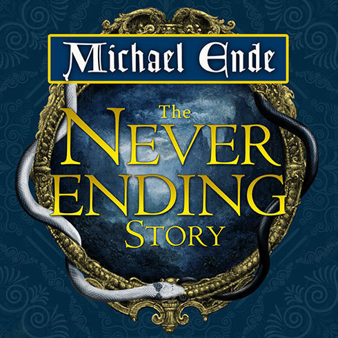 Printable The Neverending Story Audiobook Cover Art