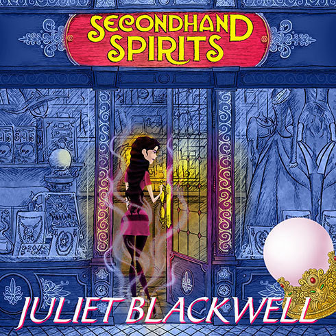 Printable Secondhand Spirits Audiobook Cover Art