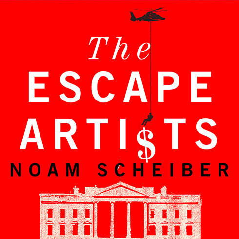 Printable The Escape Artists: How Obama's Team Fumbled the Recovery Audiobook Cover Art