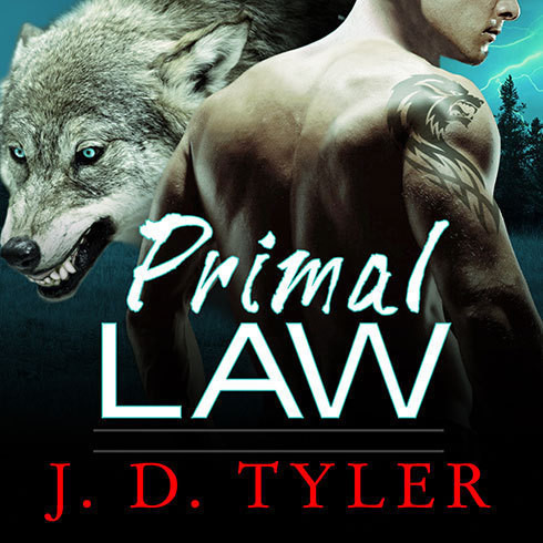 Printable Primal Law: An Alpha Pack Novel Audiobook Cover Art